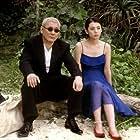 Takeshi Kitano and Kotomi Kyôno in Takeshis' (2005)