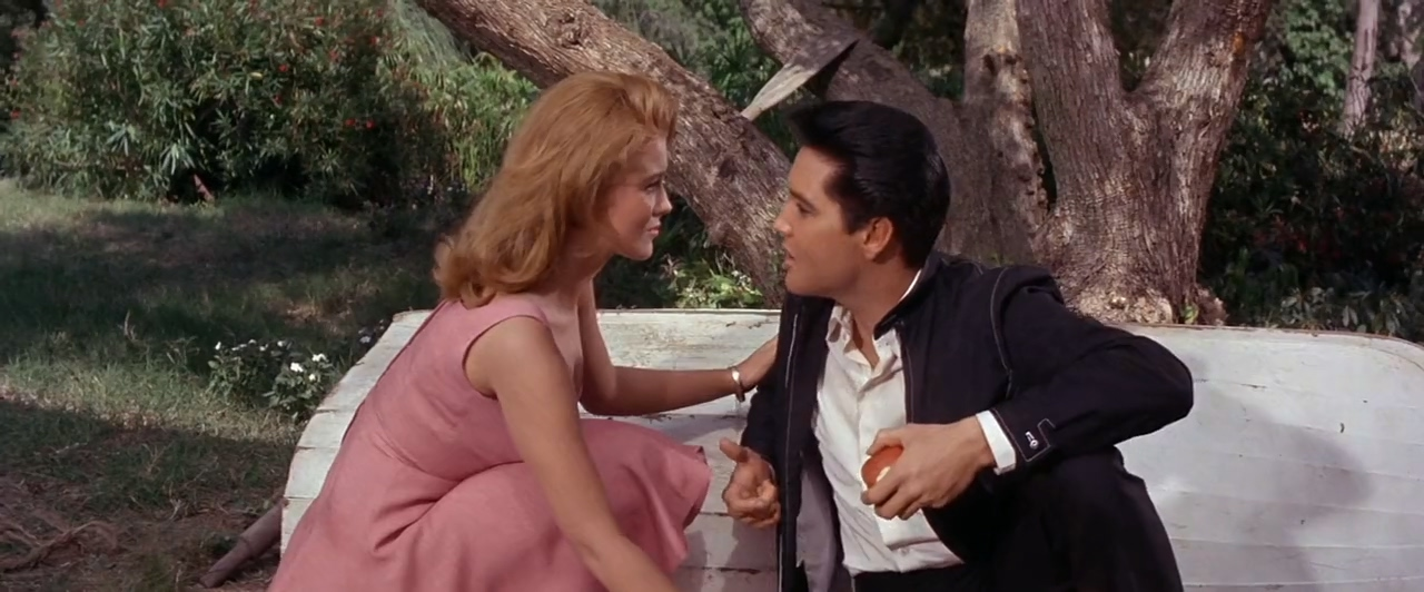 Elvis Presley and Ann-Margret in Viva Las Vegas (1964)