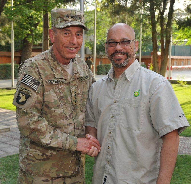 As General Petraeus' Media Production Advisor in Afghanistan