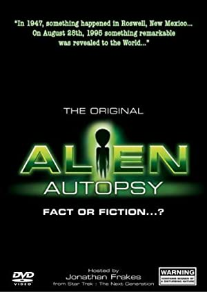 Where to stream Alien Autopsy: (Fact or Fiction?)