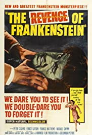 The Revenge of Frankenstein Poster