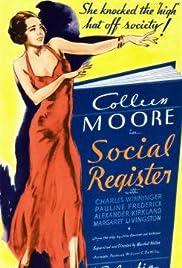 Social Register Poster