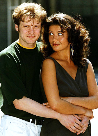 Colin Firth and Catherine Zeta-Jones in Out of the Blue (1991)