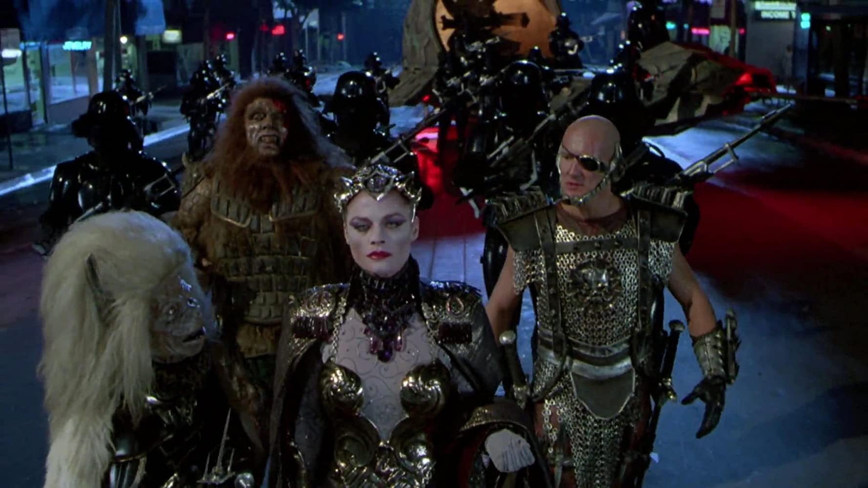 Meg Foster in Masters of the Universe (1987)