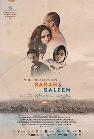 Ishai Golan, Maisa Abd Elhadi, Sivane Kretchner, and Adeeb Safadi in The Reports on Sarah and Saleem (2018)