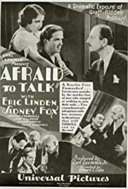 Afraid to Talk Poster
