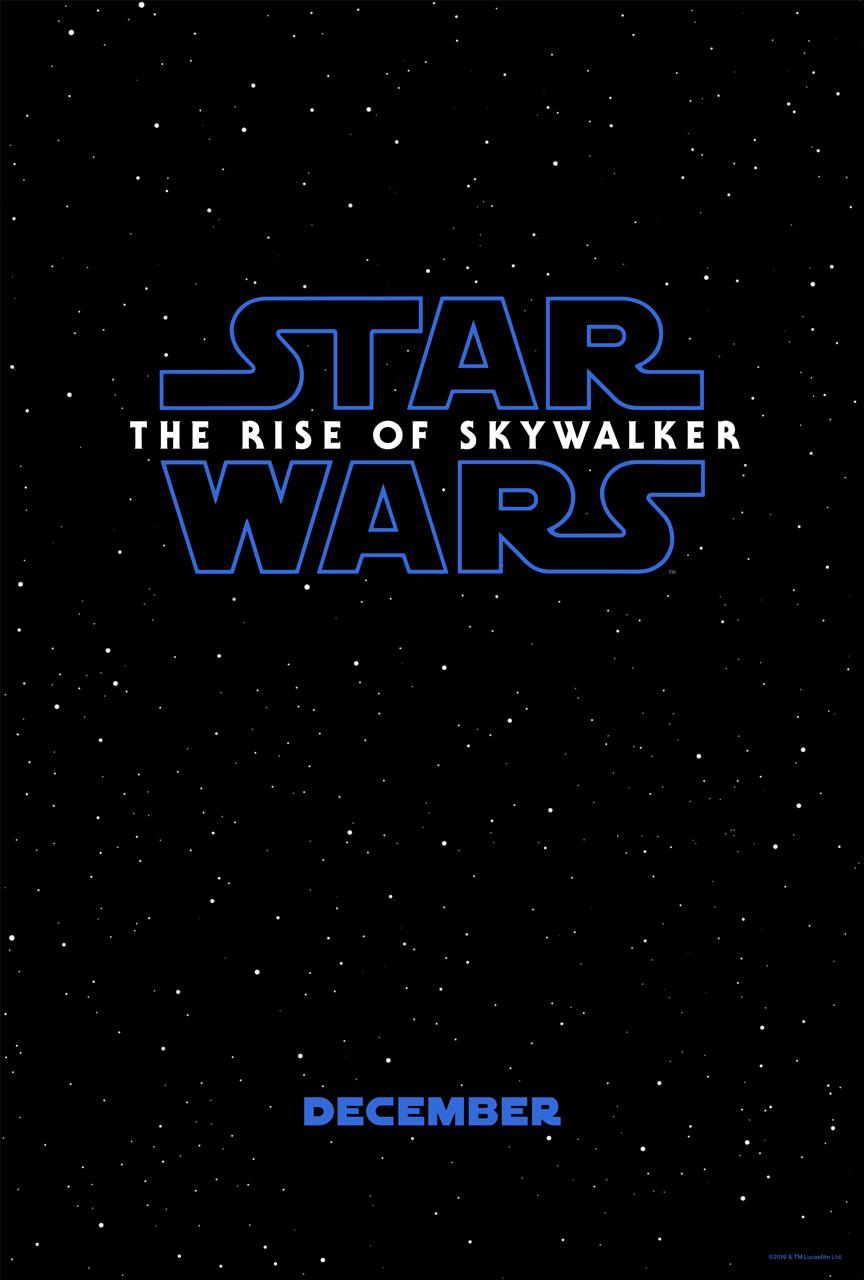 Star Wars Episode Ix The Rise Of Skywalker 2019
