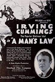 A Man's Law Poster