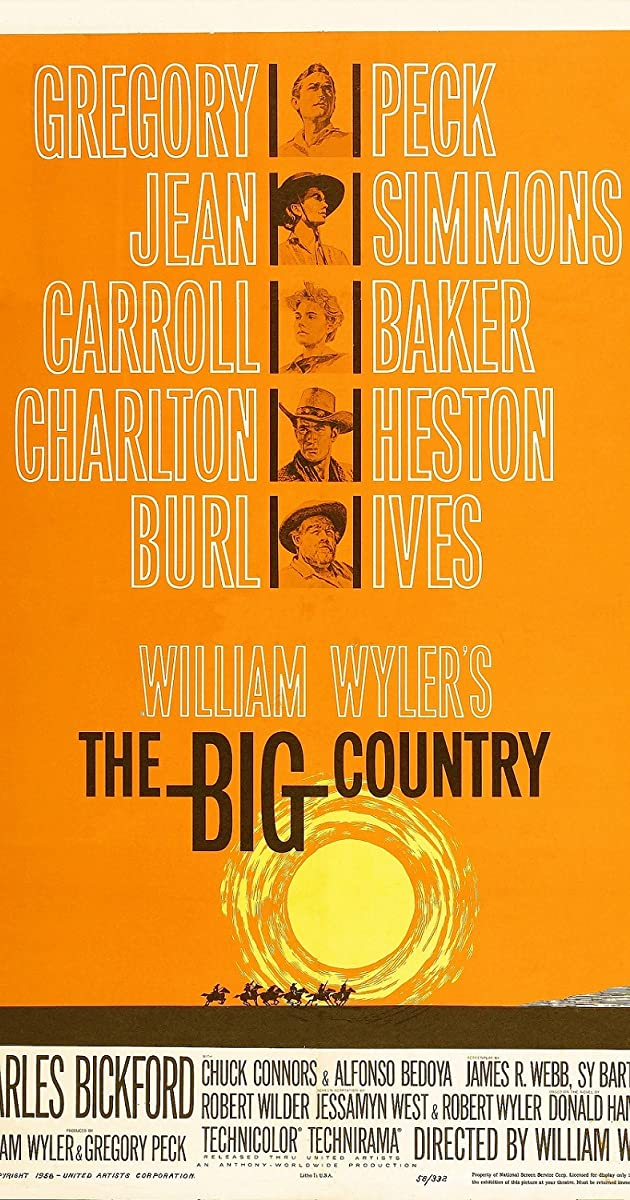 Subtitle of The Big Country