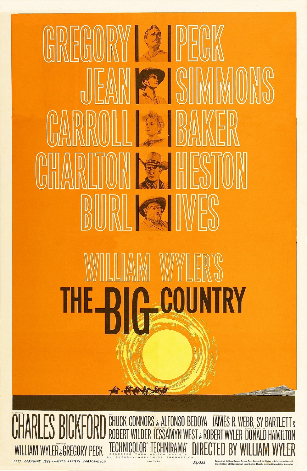 The Big Country (1958) BluRay 480p, 720p & 1080p
