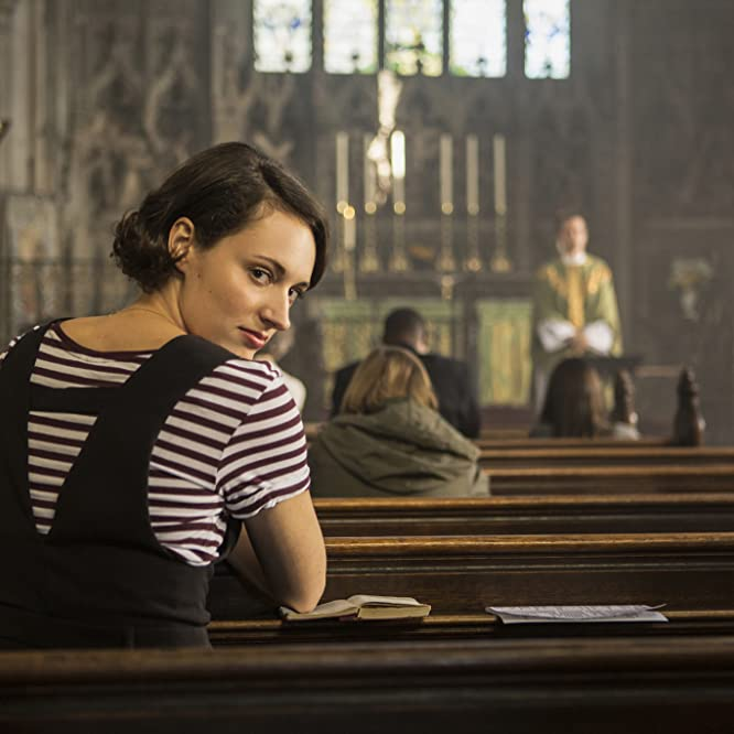 Andrew Scott and Phoebe Waller-Bridge in Fleabag (2016)