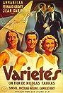 Variétés (1935) Poster