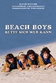 Beach Boys - Rette sich wer kann Poster