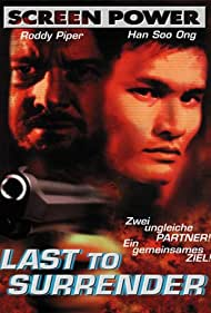 Roddy Piper and Ong Soo Han in Last to Surrender (1999)