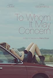 To Whom It May Concern Poster