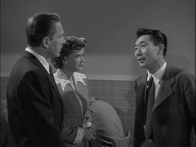 Leon Ames, Philip Ahn, and Rosemary DeCamp in The Big Hangover (1950)