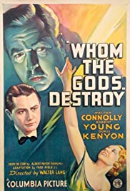 Whom the Gods Destroy Poster