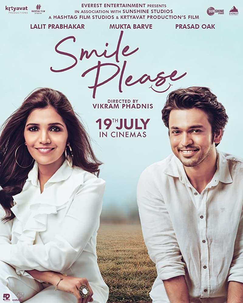 Smile Please 2019 Marathi Full Movie DVDScr 700MB Download