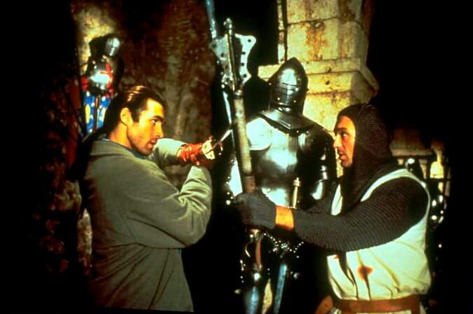 Adrian Paul and Martin Kemp in Highlander (1992)