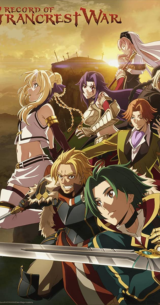 Download Record of Grancrest War or watch streaming online complete episodes of  Season1 in HD 720p 1080p using torrent