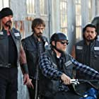 Charlie Hunnam, Jacob Vargas, Niko Nicotera, and Rusty Coones in Sons of Anarchy (2008)