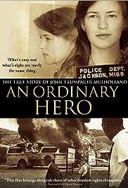 An Ordinary Hero: The True Story of Joan Trumpauer Mulholland Poster