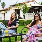 "Still of Tommi Rose & Elpidia Carrillo in HBO max movie ""Chateau Vato"""