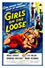 Girls on the Loose (1958) Poster