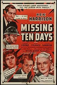 Rex Harrison, Joan Marion, and Kaaren Verne in Ten Days in Paris (1940)