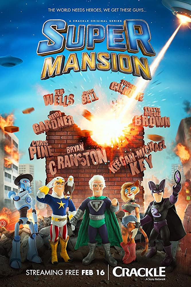 Supermansion (2015) 1 Sezonas