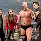 Steve Austin, Paul Heyman, Shane McMahon, and Stephanie McMahon in Invasion (2001)