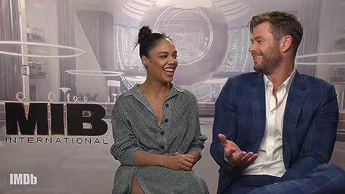 'Men in Black: International' Cast Talk Alien Cameos, Most Embarrassing Moments