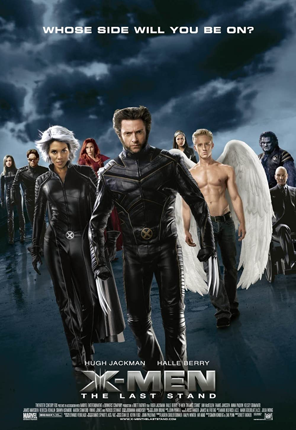 X-Men The Last Stand 2006 Hindi Dual Audio 720p BluRay ESubs 770MB Download