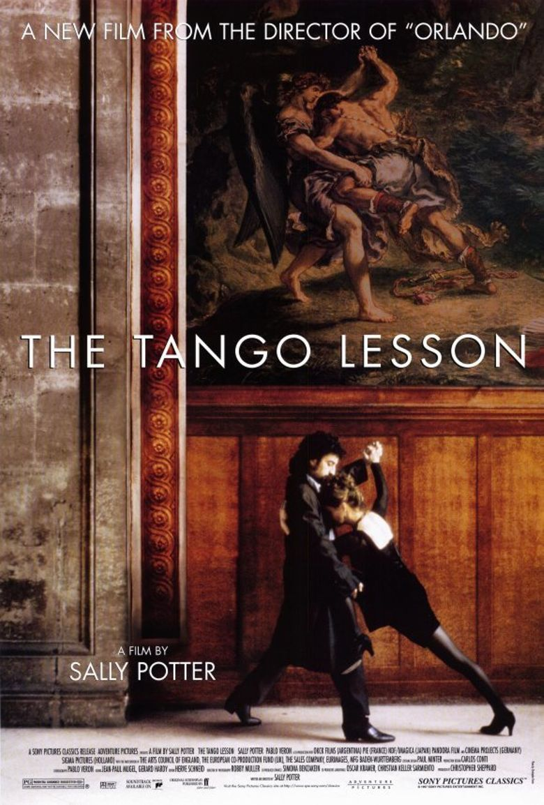 Sally Potter and Pablo Verón in The Tango Lesson (1997)