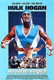 Joan Severance, Hulk Hogan, Tom Lister Jr., and Mark Pellegrino in No Holds Barred (1989)