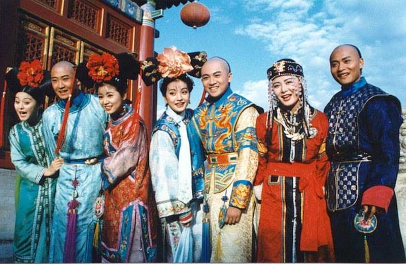 Ruby Lin, Wei Zhao, Alec Su, Bingbing Fan, Julian Chen, Jie Zhou, and Heng Zhang in Huan zhu ge ge (1998)
