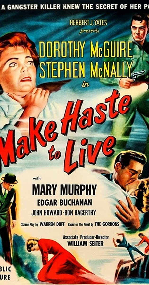 Subtitle of Make Haste to Live