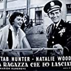 Natalie Wood and David Janssen in The Girl He Left Behind (1956)