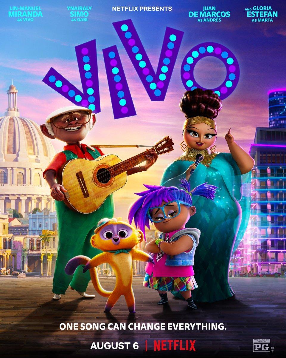 Phim Chú Gấu Vivo - Vivo (2021)