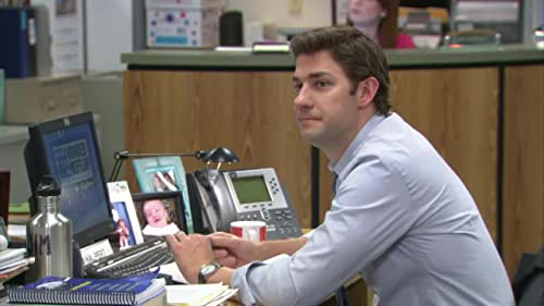 The Office: Dwight Rounding Up Business For The Family Portrait Studio