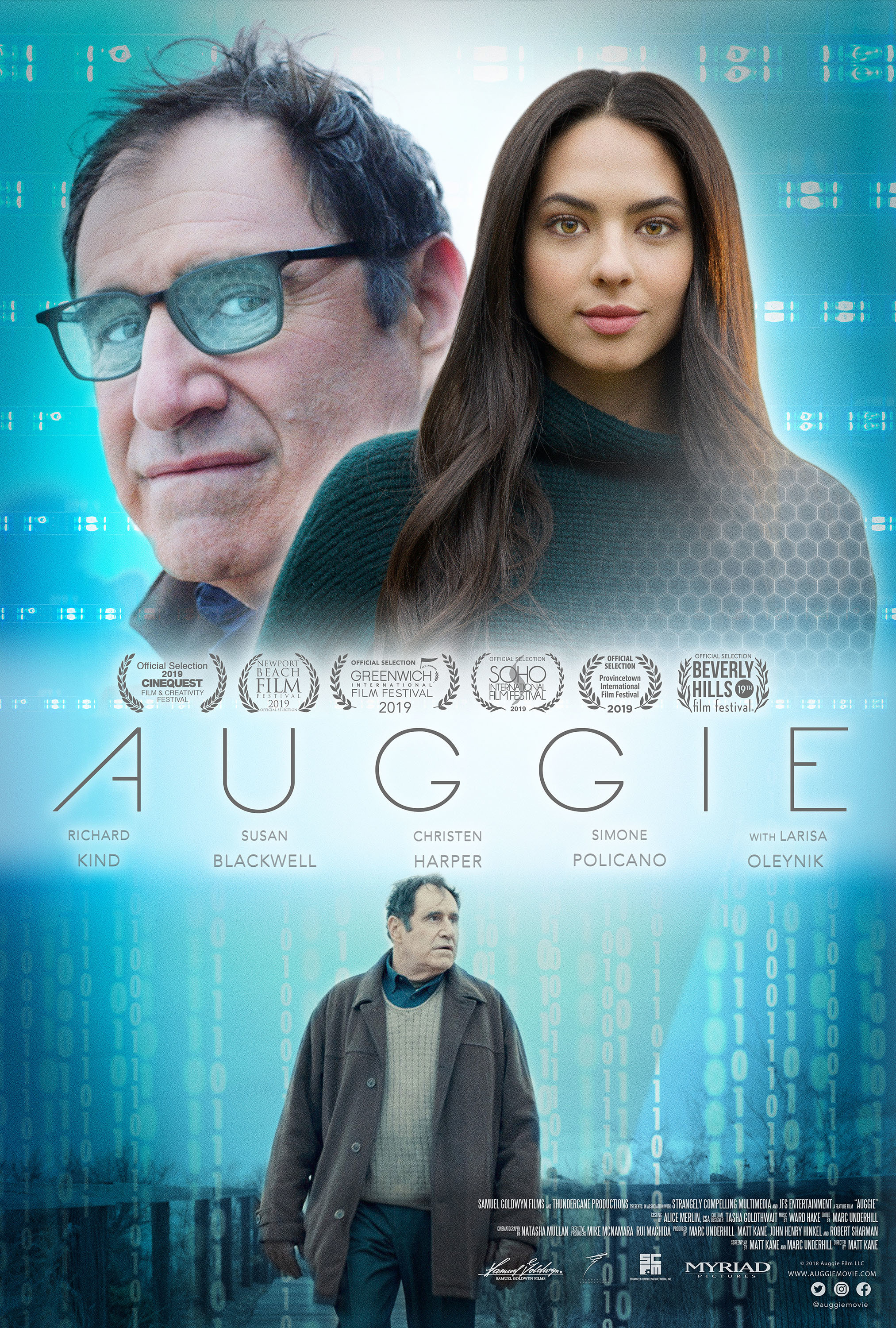 Richard Kind and Christen Harper in Auggie (2019)