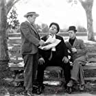 Oliver Hardy, Stan Laurel, and Eugene Pallette in The Battle of the Century (1927)