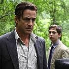 Dermot Mulroney and Austin Abrams in Sacrifice (2015)