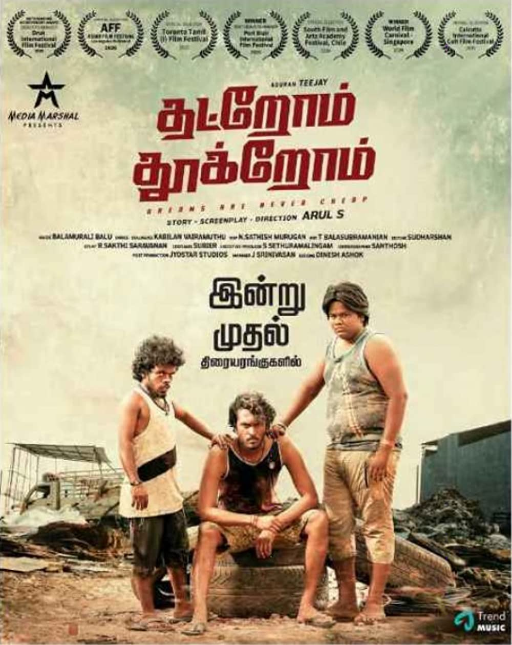 Thatrom Thookrom (2020) Tamil Full Movie 720p HDRip 500MB Download