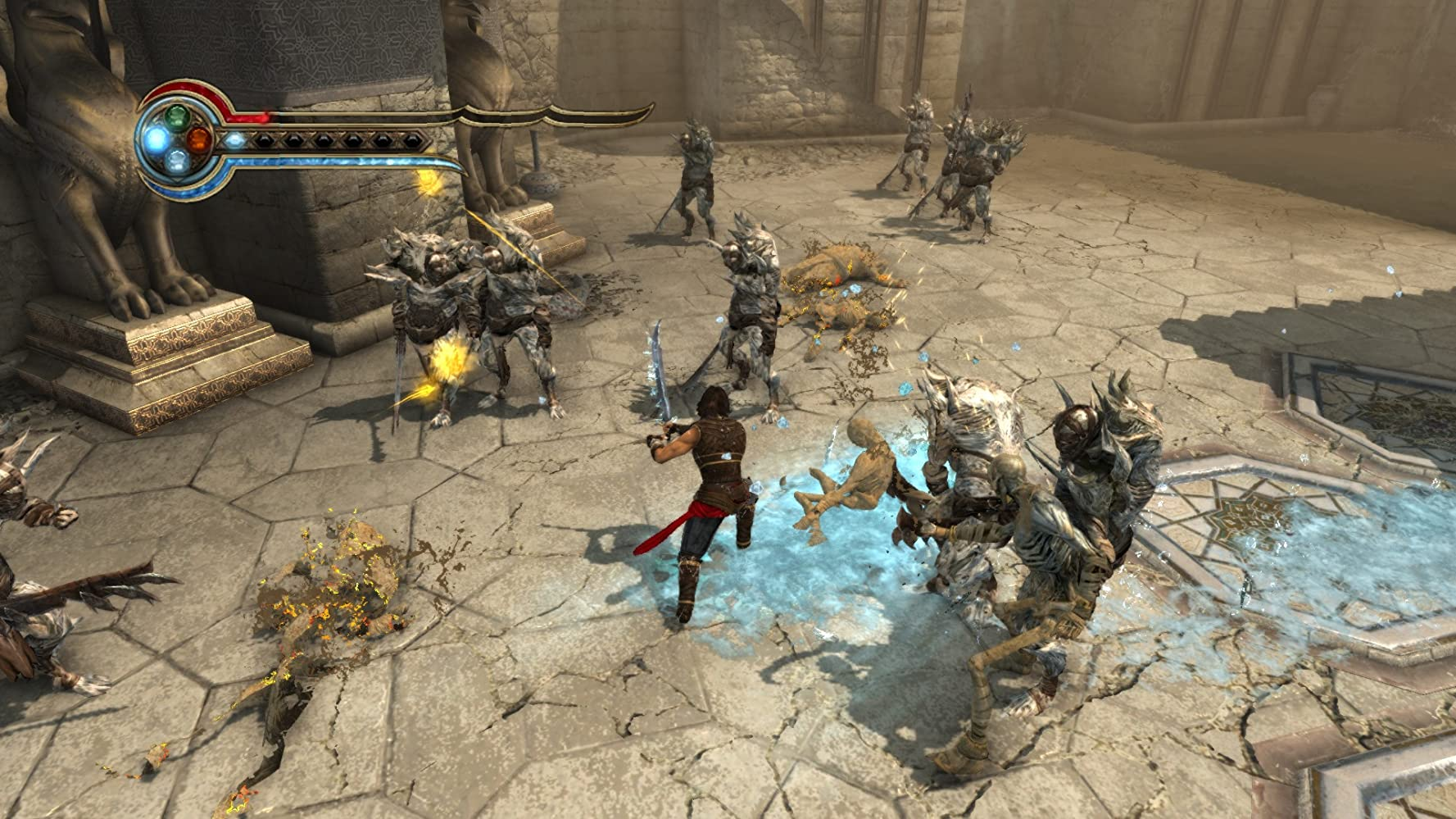 صورة من داخل prince of Persia: The Forgotten Sands""