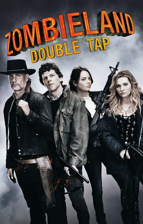 Zombieland: 2 Double Tap (2019) 720p BDRip ORG  [Hindi + Eng] Esub