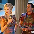 Craig Parker and Viva Bianca in Spartacus: Blood and Sand (2010)
