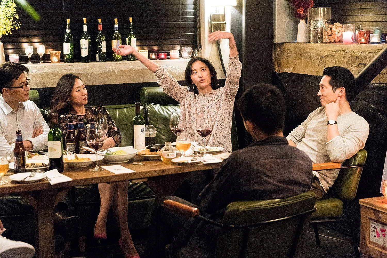 Steven Yeun and Jong-seo Jun in Beoning (2018)