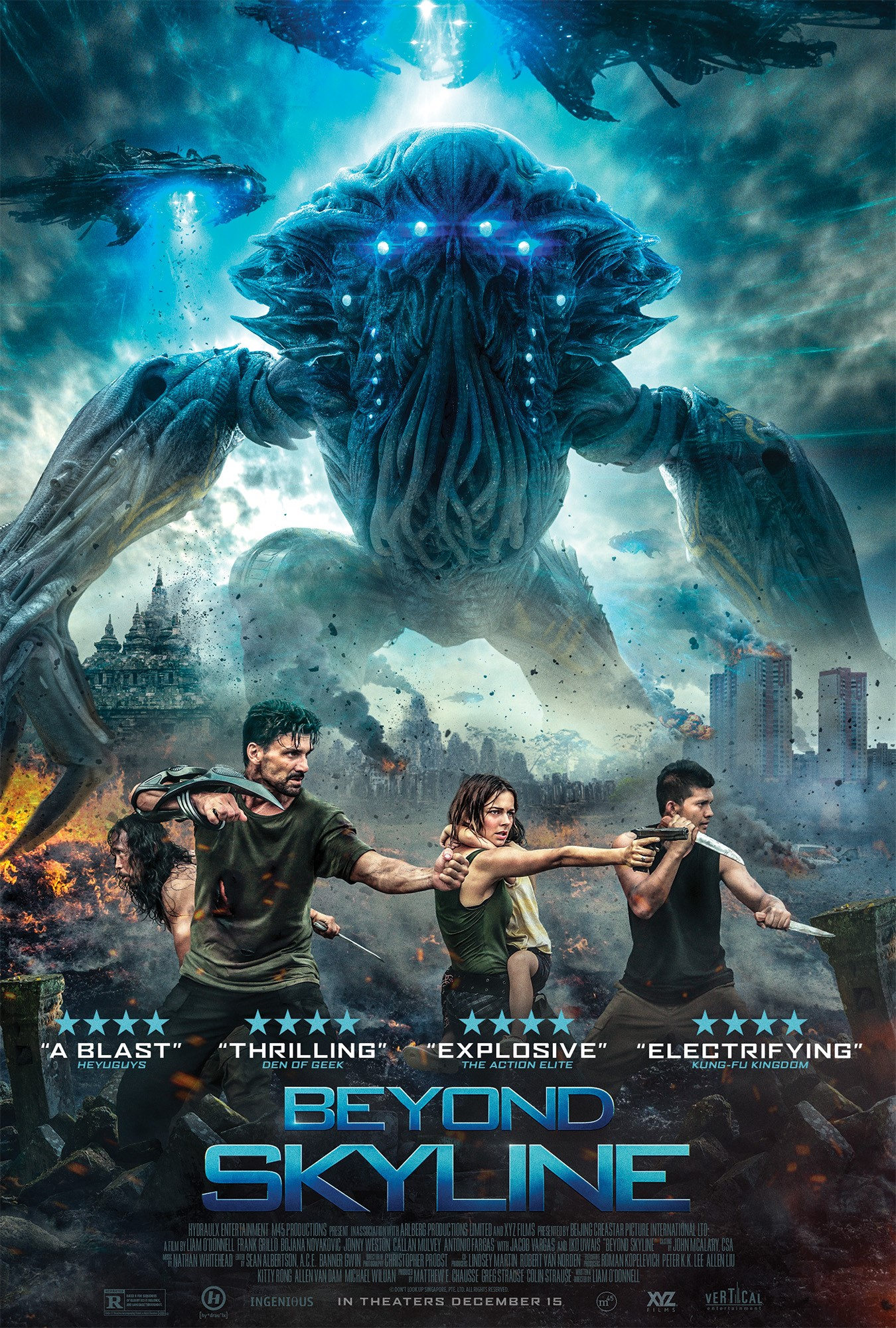 Skylines (2020) Hindi Dual Audio 720p HDRip x264 ESubs 950MB