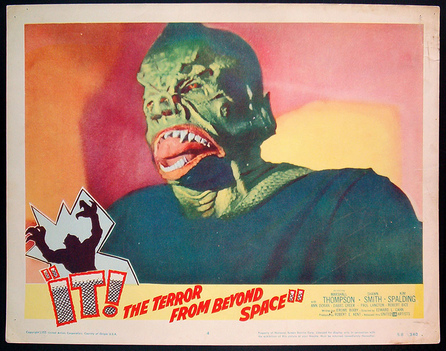 it the terror from beyond space streaming